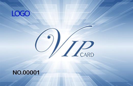 科技炫酷会员卡设计模板下载