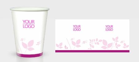 粉红色妇产医院纸杯
